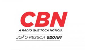 CBN João Pessoa no dia 16 de março