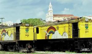 Trabalhadores realizam protesto contra violência nos trens