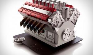 Café & Conversa fala de cafeteira em forma de motor de carro