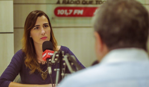 Patrícia Rocha se prepara para estrear na rádio CBN