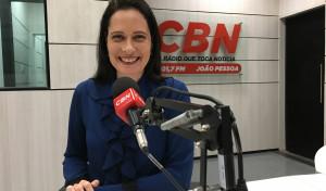 Carla Visani é a nova apresentadora da CBN em João Pessoa